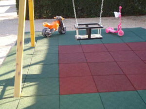 Placas Em Borracha Recicladas De Pneu Para Parques Infantis